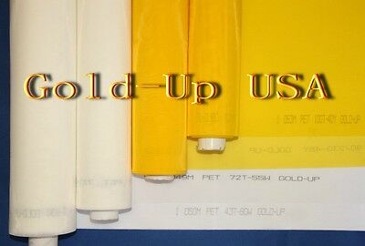 10 Yards- 110 White X 63 Width Silk Screen Printing Mesh Fabric