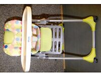 Chicco high chair.