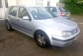 *** SILVER 2003 03 VW GOLF 1.4 5 DOOR HATCHBACK *** QUICK SALE - REDUCED PRICE!!! ***
