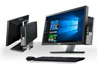 "DELL OPTIPLEX 790 SFF AiO COMPUTER + 22"" MONITOR i3 DC 4GB 500GB WINDOWS 10 PRO"