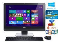 Dell OptiPlex 9030 All In One PC, Intel i7 4790S 3.2GHz, 16GB RAM, 480GB SSD