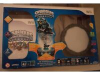 SKYLANDERS BOXED AS NEW WITH FIGURES NOT USED FOR TWO YEARS. £10.00