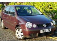 2002 Volkswagen Polo S 1.2 Petrol 5 Door Mot January 2019, Clean, Only 69,000 Miles!✳✳