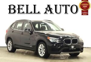 2013 BMW X1 XDRIVE LEATHER PANORAMIC ROOF