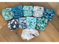 Reusable nappies for baby
