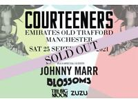 2x Standing Courteeners Tickets - Old Trafford