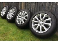 Range Rover Sport L494 Wheels and Excellent Tyres, 5x120, Transporter T5