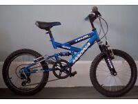 "Bargain: Kids Mountain Bike - 18"" Wheel, 5 gears."