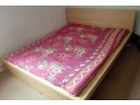 Move out sale - IKEA king size bed