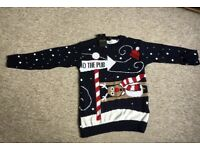 Jumper new with jags on it