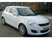 Suzuki Swift 1.2L SZ3 5 Doors Manual White *New MOT* *Just 48000 Miles*