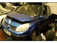 BREAKING RENAULT MEGANE SCENIC AUTOMATIC BLUE 1.6 16V 5DR MOST PARTS AVAILABLE 57k MILES