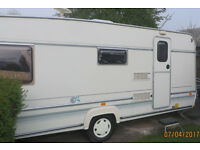 ABI DALESMAN 520 ET 4 BERTH 1998 Ready to go ! No Damp and in Good Condition