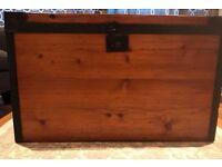 Wood Trunk - Antique