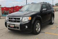 2009 Ford Escape Limited / Bluetooth / Leather