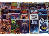 Collection of 25 Batman Graphic Novels