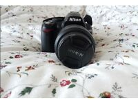 Nikon d3000 DSLR Camera - Great Quality - 18-55mm lens