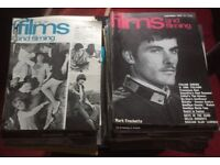Films & Filming magazines May 1968 to June 1973