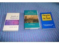 Politics Texts Books For Sale