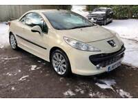 Peugeot 207 CC 1.6 16v GT 2dr£3,345 p/x welcome FREE WARRANTY. NEW MOT