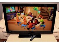 "Very nice 46"" FULL HD TV, with remote, USB, HDMIs"