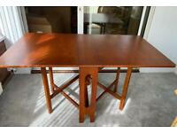 Mid Century G Plan Dining Table & 4 Chairs in good condition