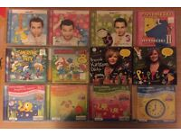Collection of Polish CDs for children (Polskie Płyty dla dzieci)