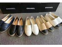Chanel Leather Espadrilles