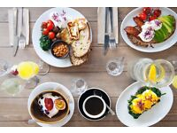 Passionate Chef for Busy Hackney/ Shoreditch Kiwi Brunch All-Day Cafe Great Pay & Nice Kitchen
