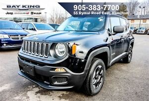 2016 Jeep Renegade SPORT, 4X4, REMOTE START, BLUETOOTH, BACKUP C