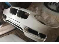 Bmw 1 series f20 FRONT BUMPER SALVAGE BREAKING PARTS 2011 onwards to 2015