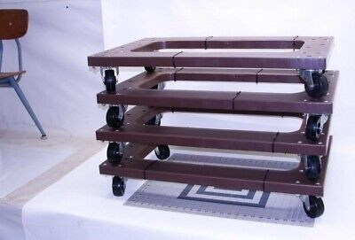4 Pack Mover Furniture Moving Dolly Swivel Casters About 30x18