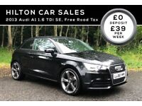 2013 AUDI A1 1.6 TDI SE***FREE ROAD TAX***FINANCE AVAILABLE***(NOT VOLKSWAGEN MERCEDES BMW)