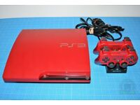 Sony PlayStation 3 Slim 320GB CECH-3003BSR Scarlet Red Limited Edition Console