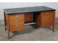 1960's Classic Teak Desk