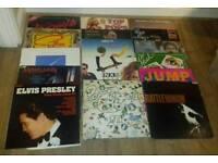 JOB LOT Vinyl Record LP's *QUEEN* ROLLING STONES* AND MORE*