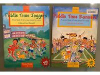 Fiddle Time Violin manuals for beginners and children