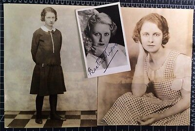 "Broadway photos of Beatrix Thomson by Nicholas Ház 1926 ""The Constant Nymph"""