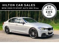 BMW 330D M SPORT AUTO FULL M PERFORMANCE PACK**LOW MILES**FINANCE AVAILABLE***(NOT VW AUDI MERCEDES)