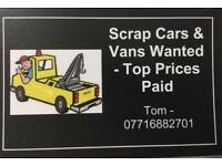 Cash paid for scrap cars