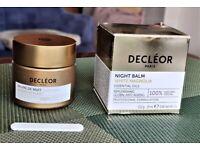 DECLEOR WHITE MAGNOLIA ANTI-AGEING NIGHT BALM 15 ML NEW & SEALED