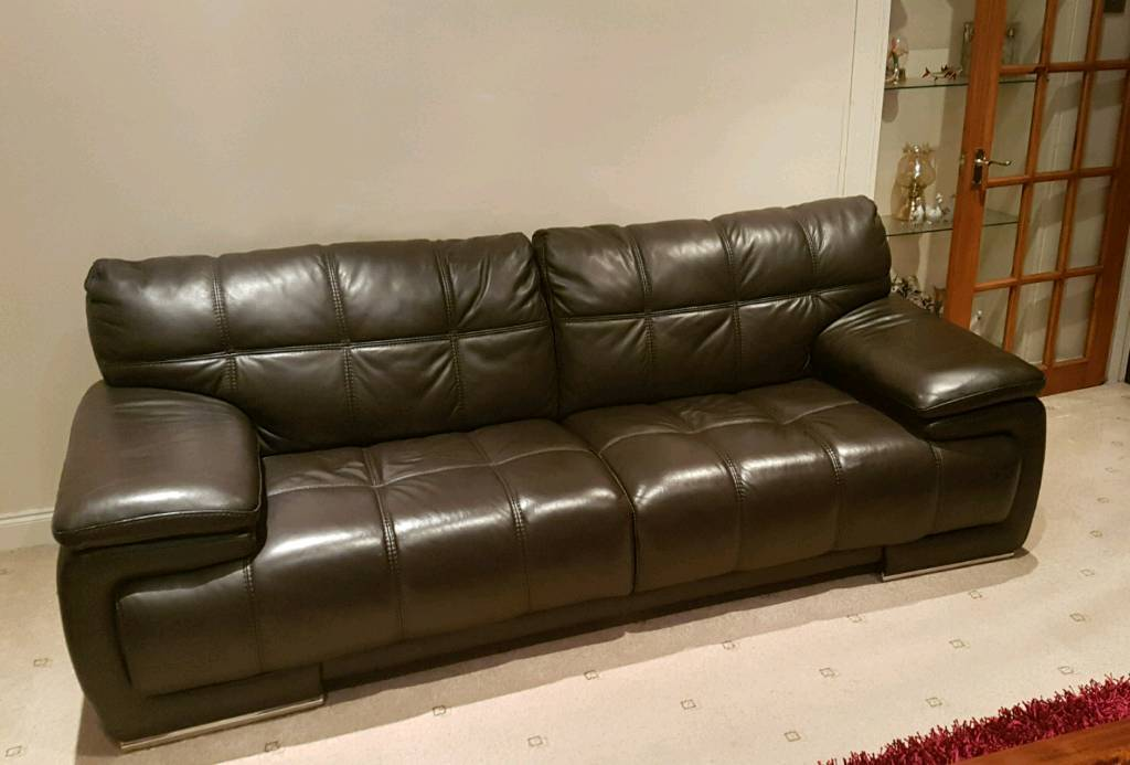 Pleasant Violino Leather Sofa Machost Co Dining Chair Design Ideas Machostcouk