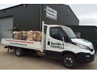 BULK BAGS OF SEASONED FIREWOOD LOGS DELIVERED FOR JUST £60