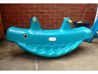 Little tikes whale see-saw