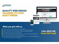 Quality Web Design - Tailored To Your Exact Needs