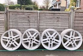 """Land Rover Discovery/Range Rover/VW Transporter T5. 18"""" Alloys. Completely Unmarked. Shot Blasted."""