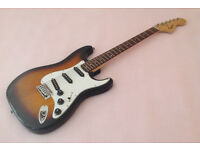 Squier 20th Anniversary stratocaster electric guitar