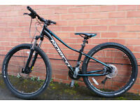 Norco Storm Forma 7.1 Womens/Girls Bike - As New Condition With Helmet and Lights