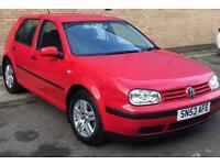 VW GOLF, MK4 MATCH 1.9TDi 5dr