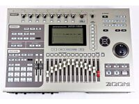 ZOOM MRS-1608 CD MULTI TRACK DIGITAL HARD DRIVE RECORDING STUDIO 8 16 802 1266